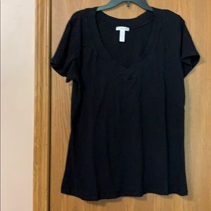 Ambiance Apparel Vneck Tee, 3X